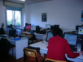 Aula Informatica del Liceo Chini