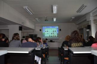 Aula Multimediale del Liceo Chini